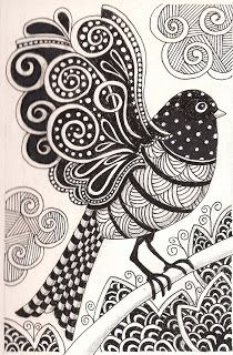 Banar Designs: More zentangles