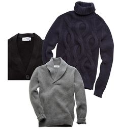 A BETTER SWEATER  Two well-bred Frenchmen stake their careers on designing the ultimate in cashmere.