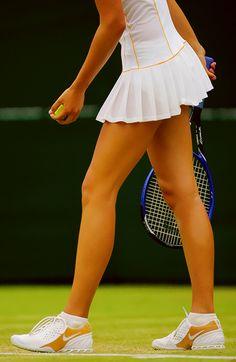 Countdown to Wimbledon 2014: With Sharapova.