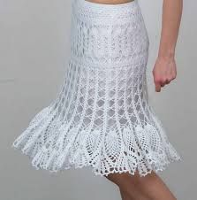 faldas tejidas a crochet - Buscar con Google