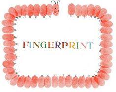 tons of ideas for fingerprint art  #