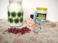 Romantic Rose Petal and Vanilla Sugar Scrub. via simplir.me