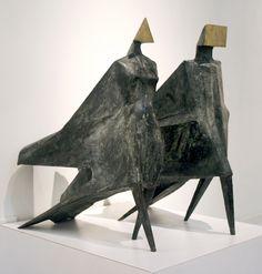 Available for sale from Baker Sponder Gallery | Sponder Gallery, Lynn Chadwick, Maquette III Jubilee III C24 (1984), Bronze, 30 1/2 × 26 × 27 in