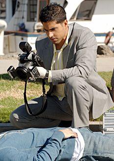 Adam Rodriguez, Detective Eric Delko in CSI Miami.