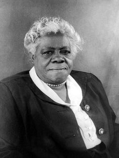 Mary McLeod Bethune (1875-1955) Educator, civil rights leader, founder of Bethune-Cookman University