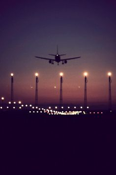 avion aterrizando