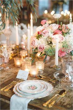 Fabulous 50+ Wedding Table Setting Inspiration https://bridalore.com/2017/12/15/50-wedding-table-setting-inspiration/