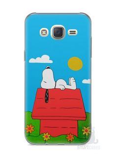Capa Capinha Samsung J7 Snoopy #14