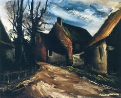 The Farmer Artwork by Maurice de Vlaminck Oil Painting & Art ...