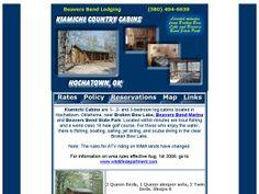 Kiamichi Country Cabins - Broken Bow, OK - Resort/Retreat