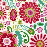 I love this one, too!  It makes me happy!  : )  Dena Designs Love & Joy Daisy Green [FS-DF158-Green] - $10.95 : Pink Chalk Fabrics is your online source for modern quilting cottons and sewing patterns., Cloth, Pattern + Tool for Modern Sewists