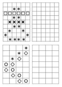 Visual Perceptual Activities, Adhd Activities, Therapy Activities, Writing Activities, Free Printable Puzzles, Math Patterns, Map Skills, Tools For Teaching, Math For Kids