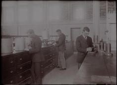 C.A.C. Soils Lab. 1919. UHPC, University Archive, Archives and Special Collections, CSU, Fort Collins, CO
