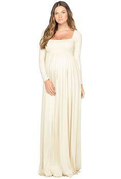 rachel pally cream isa dress maternity