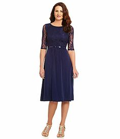 Sangria IllusionSleeve Lace Dress, for the Mother-of-the-Bride.
