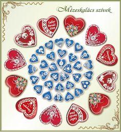 Mézeskalács ajándék minden alkalomra - Köszönetajándék - Reklámajándék Heart Cookies, Minden, Desserts, Food, Cookies, Meal, Deserts, Essen, Hoods