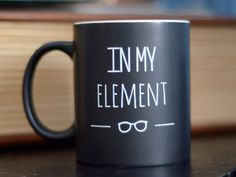 Periodic Table In My Element Mug and Gift Box by NerdyWordsGifts