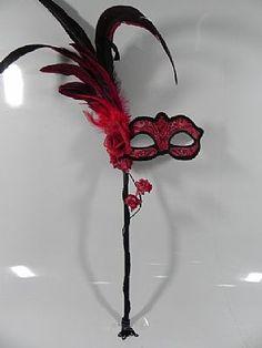 Mascara Veneziana, Baile de Mascaras, Fantasias, Mascaras de Luxo.