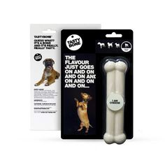 Tested on the most rigorous of chewers this nylon bone satisfies every bit of your dogs urge to gnaw and is packed with an irresistible Lamb flavor.  http://www.olliespetboutique.com/tasty-bone-i-am-cheese-4-sizes