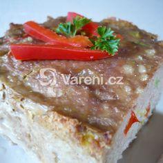 Sváteční masová sekaná recept - Vareni.cz Grains, Rice, Seeds, Laughter, Jim Rice, Korn
