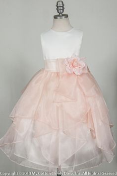 flower girl peach dress - Google-søgning