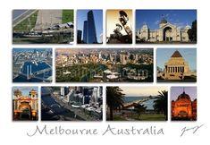 Melbourne Australia PC155