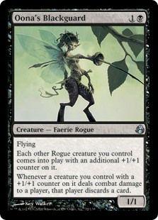 Oona's Blackguard (Morningtide) - Gatherer - Magic: The Gathering Magic The Gathering Karten, Minions 1, Thing 1, Magic Cards, Dark Fantasy Art, Funny Cards, Deck Of Cards, Rogues, Faeries