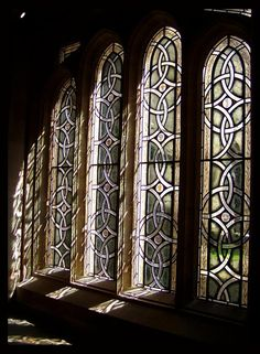 mererecorder:    Stained Glass - Medieval style by ~Hakuba