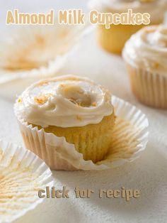 Almond Milk Cupcakes Recipe