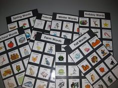 great word wall words or even just to use the clip art for some seasonal projects