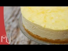 Las Recetas de MJ cheesecake de limon