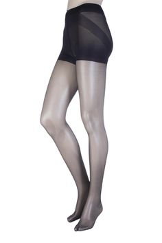 Ladies 1 Pair Oroblu Shock Up Light 20 Denier Bottom Lifting Shaping Tights Black Medium -- Awesome products selected by Anna Churchill