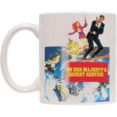James Bond On Her Majestys Secret Sevice Coffee Mug