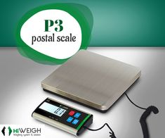 P3 #PostalScale is a low profile platform with multi-units exchange of kg/g/lb/oz & optional suitcase. Get it @  www.hiweigh.com/product-details/p3-low-profile-weighing-platform