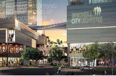 Brickell City, vista comercial da cidade, em Brickell