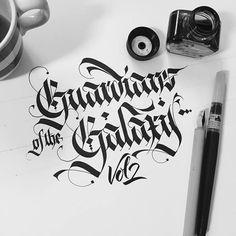 Fralligraphy Calligraphy Worksheet, Calligraphy Tutorial, Calligraphy Words, Lettering Tutorial, Calligraphy Tattoo, Gothic Lettering, Chicano Lettering, Types Of Lettering, Brush Lettering