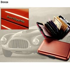 Superleggera Aluminum Wallet Gives Quick Access to Cards and Cash; Prevents Identity Theft!