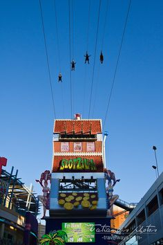 Slotzilla Zipline at Fremont Street Experience - one of the coolest new Vegas attractions.