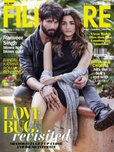 Oh boy! Shahid Kapoor-Alia Bhatt get up, close & intimate for Filmfare! | PINKVILLA