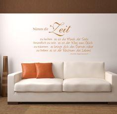 "Wandtattoo ""Nimm dir Zeit"", Spruch 140x75 + Rakel mldigitaldesign http://www.amazon.de/dp/B00829ZHOK/ref=cm_sw_r_pi_dp_i-XUvb0PK6MGS"