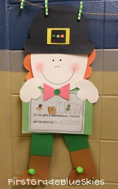 Let's Make A Leprechaun....Or Two! (freebie, too!)