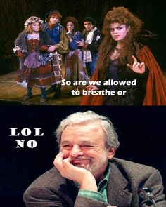 Oh Sondheim...* i have learned to breath between notes, if you don't you will die  _^--Silent
