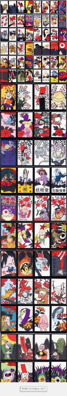 水木しげる ゲゲゲの鬼太郎 花札 - created via http://pinthemall.net