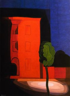 Summer night, 1936 by Oscar Bluemner | issyparis