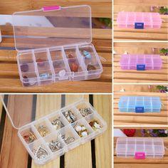 28 Slots Kunststoff Medizin Pille Schmuckschatulle Aufbewahrungsbox Organizer DE