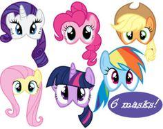 Mi pequeño Pony invitaciones imprimibles  fiesta temática de