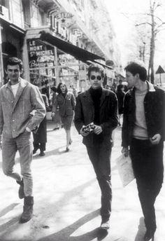 Bob Dylan and Hugues Aufray