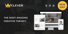 Clever - Creative Portfolio WordPress Theme