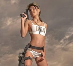 These pictures are dedicated to our troops serving overseas. We found these pictures of models for each branch of our Military and wanted to share the album with you. We THANK EACH and EVERY ONE of the men and women risking their lives on a daily basis to protect our Freedom! Thank You from APOCALYPSE MMA! Please remember to follow APOCALYPSE MMA on Facebook at https://www.facebook.com/UltimateApocalypseMMA and Twitter @Apocalypse_MMA