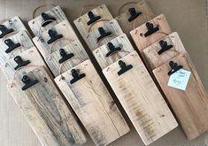 wood board menu binder